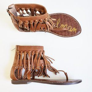 NEW Sam Edelman Fringe Sandals
